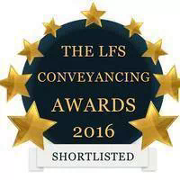 LFS Conveyancing Awards 2016 Shortlisted