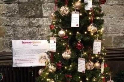 Banner Jones Supports the Festival of Christmas Trees