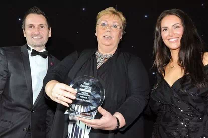 Top award for Jillian Thomas at Derbyshire Times Business Awards