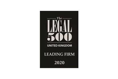 Banner Jones retains 'Leading Firm' status in the UK Legal 500