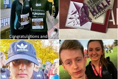 Banner Jones donates £250 to Ashgate Hospice following Half Marathon fundraising efforts