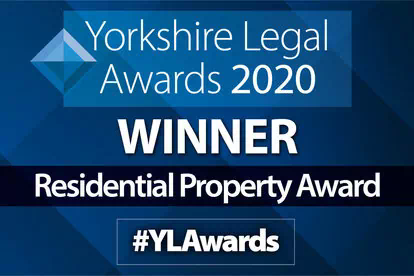 Award win for Banner Jones' Yorkshire residential property team