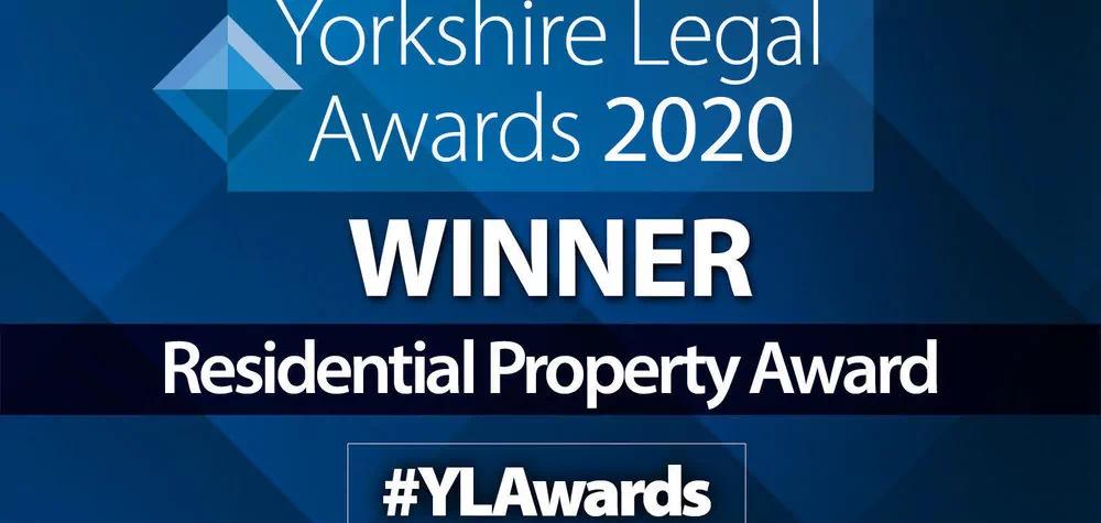 Award win for Banner Jones' Yorkshire residential property team