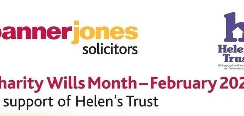 Charity Wills Month - Helen's Trust