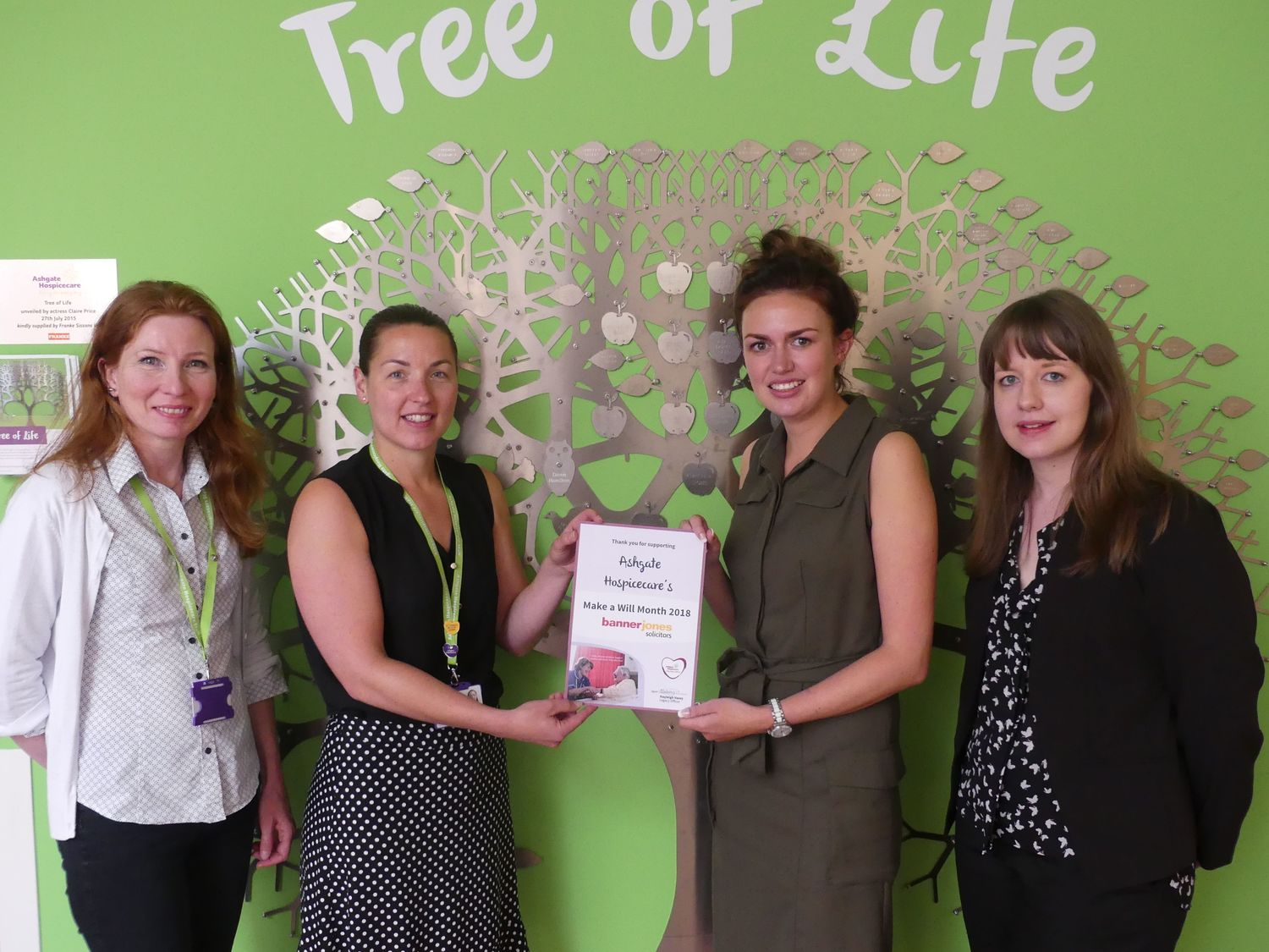 Free Wills Month Ashgate Hospice